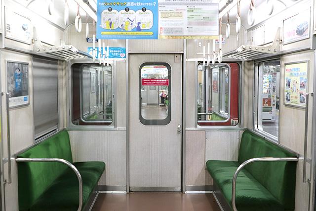 神鉄3000系(前期型)貫通路