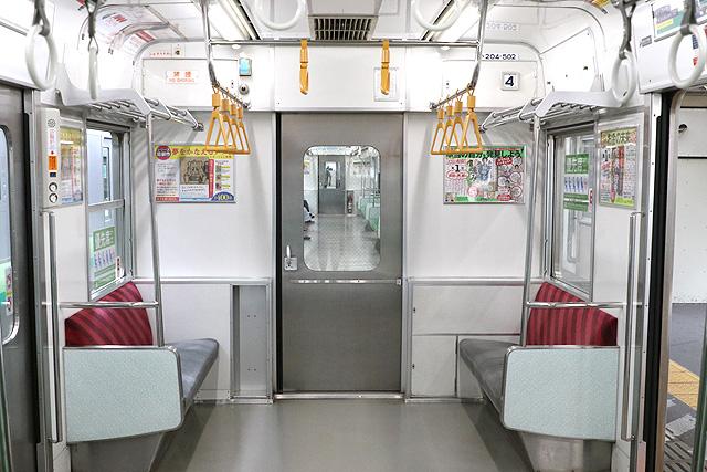 JR東日本205系500番台 貫通路