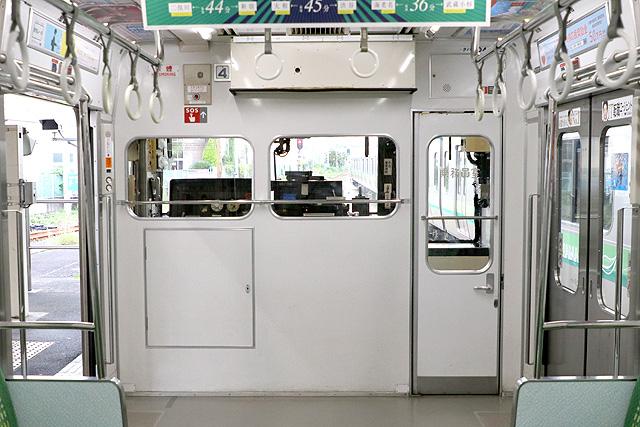 JR東日本205系500番台 乗務員室背面