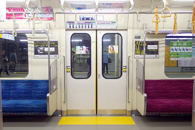 東京臨海高速鉄道70-000形 客用ドア