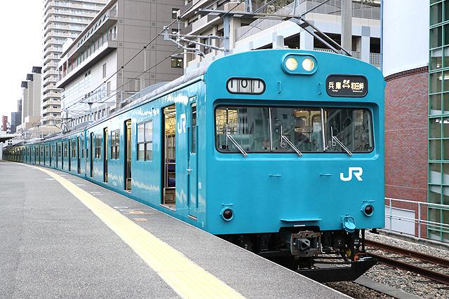 JR103系電車