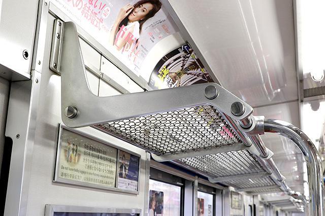 Osaka Metro 20系 荷棚
