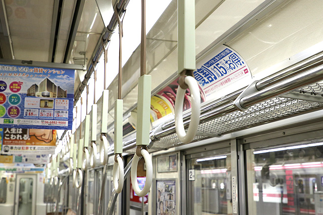 Osaka Metro 25系 吊革