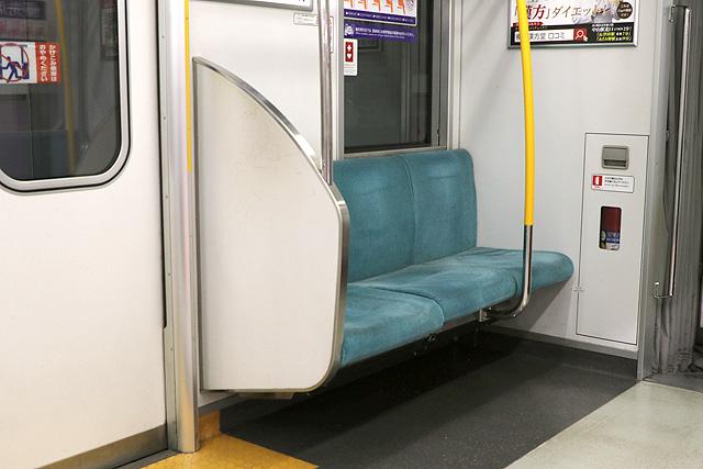 東武50050系(初期車)優先席