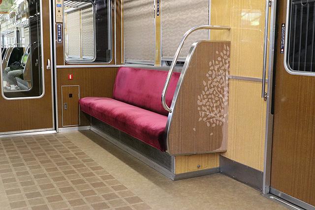 能勢電鉄7200系 優先座席
