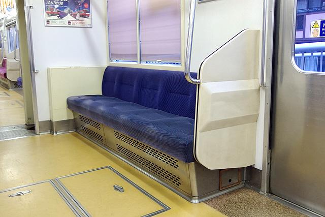 京急1500形(鋼製車)優先席