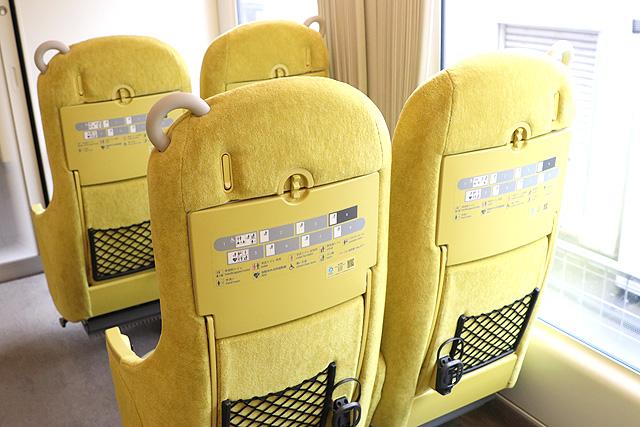 西武001系Laview シート背面