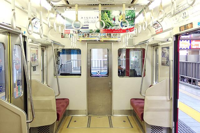 京急1500形(鋼製車)乗務員室背面