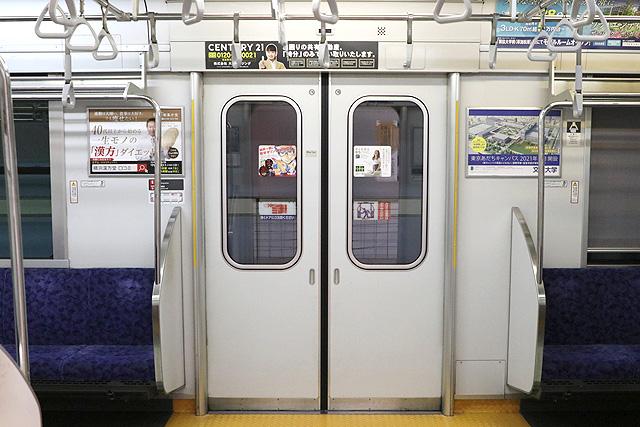 東武50050系(初期車)客用ドア