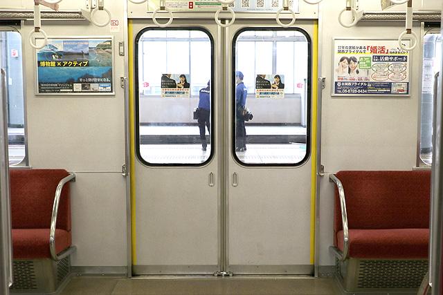 近鉄2610系(X12編成)客用ドア