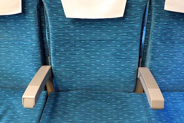 【今週の座席モケット】JR東海N700A(G編成)