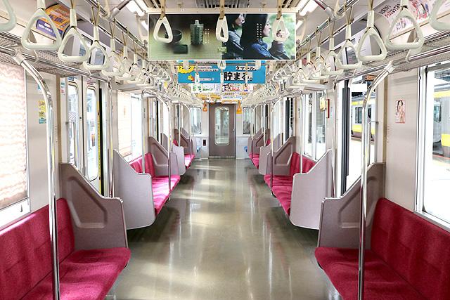 東京メトロ05系(11次車)車内デザイン