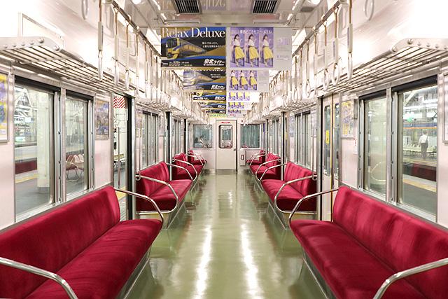 泉北高速鉄道3000系(後期車・未更新)車内デザイン