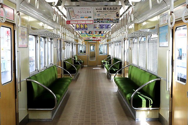 阪急5100系 車内デザイン