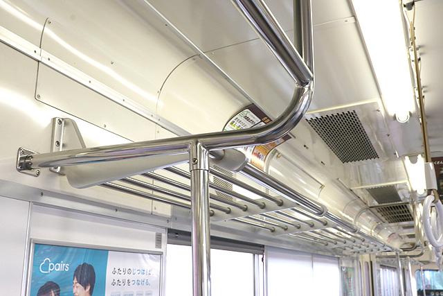 名鉄3700系(2次車)荷棚