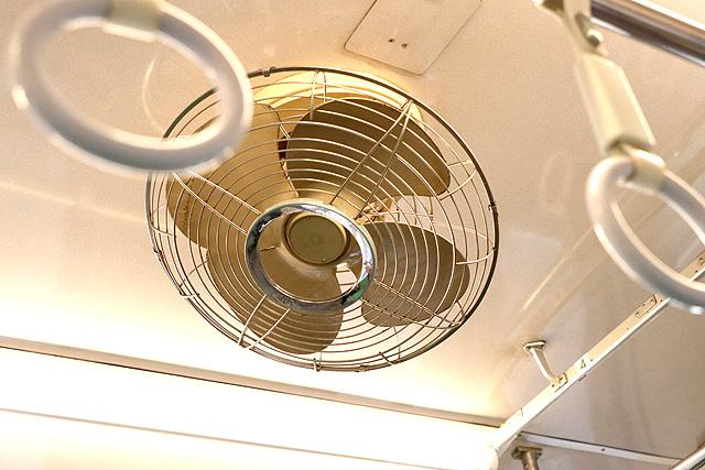養老鉄道7700系(2両編成)扇風機