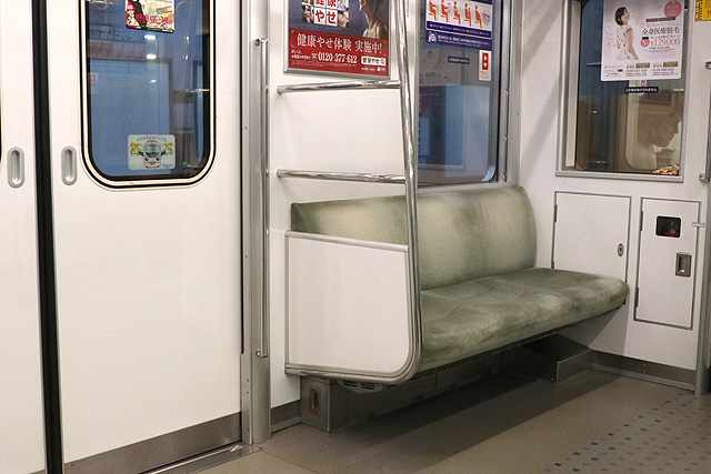 西武20000系(初期車) 優先席