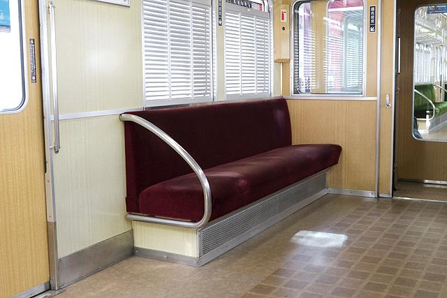 阪急5100系 優先座席