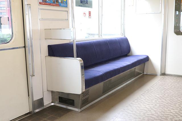 名鉄3700系(2次車)優先席