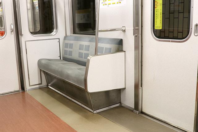 名古屋市営地下鉄5050形 優先席
