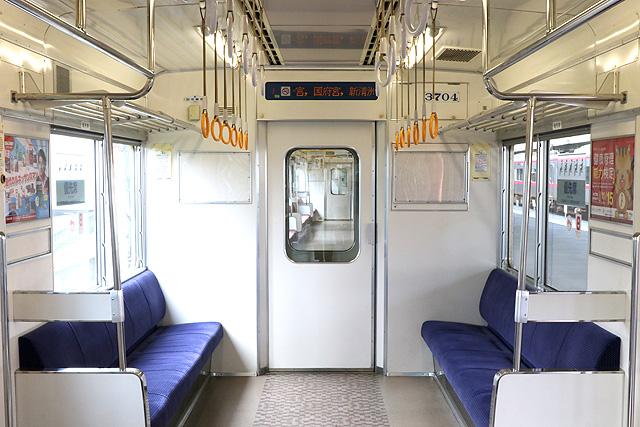 名鉄3700系(2次車)貫通路