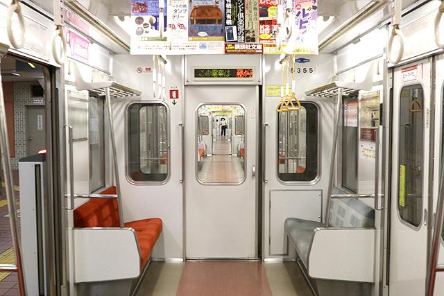 名古屋市営地下鉄5050形 貫通路