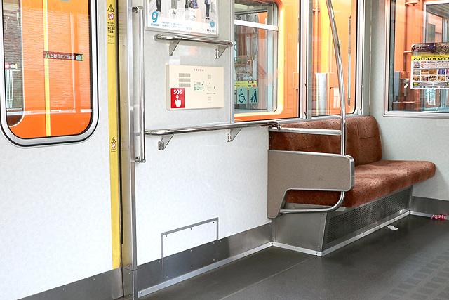 阪神8000系(タイプⅣ)車いすスペース