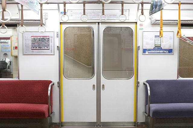 近鉄2430系(初期B更新車)客用ドア