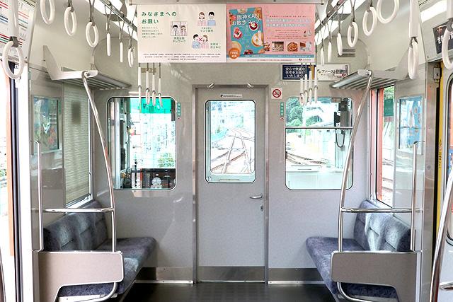 阪神8000系(タイプⅣ)乗務員室背面