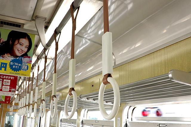 阪急5100系 吊革