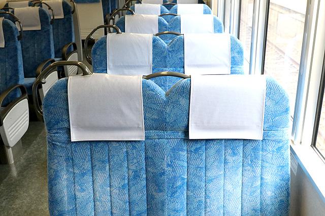 【今週の座席モケット】JR東海313系5000番台