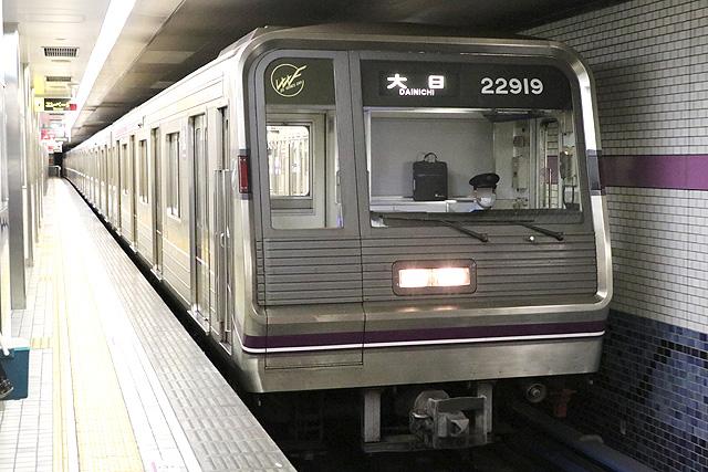 OsakaMetro22系最終増備車