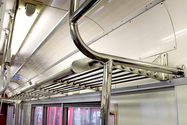 名鉄6800系(3・4次車)荷棚