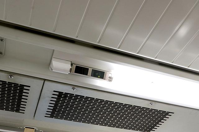 北総鉄道7500形 防犯カメラ