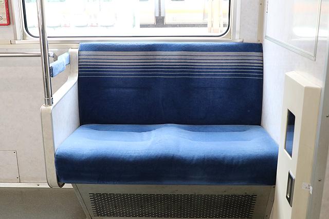 【今週の座席モケット】東京メトロ07系未更新車(優先席)
