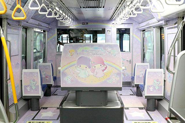 東京モノレール10000形 キキ&ララ モノレール 乗務員室背面(空港方)