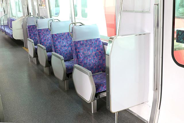 名鉄2300系 転換クロスシート(1人掛け)