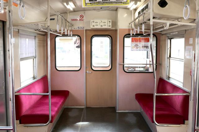 関東鉄道キハ532形 乗務員室背面(竜ケ崎側)