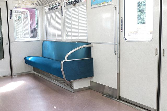 能勢電鉄3100系 優先座席