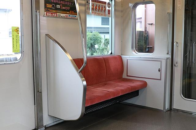 名古屋市営地下鉄N3000形(ステンレス車) 優先席