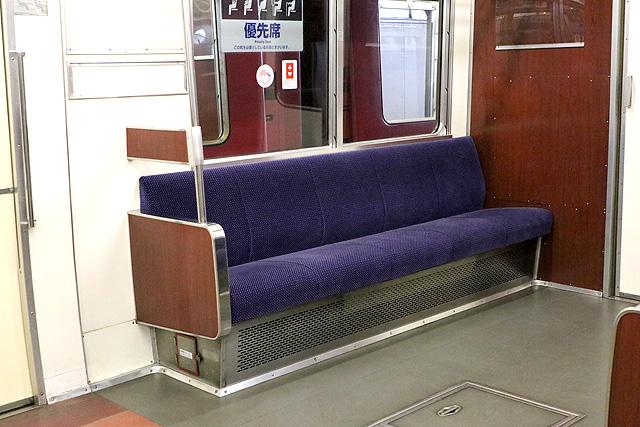 名鉄6800系(3・4次車)優先席