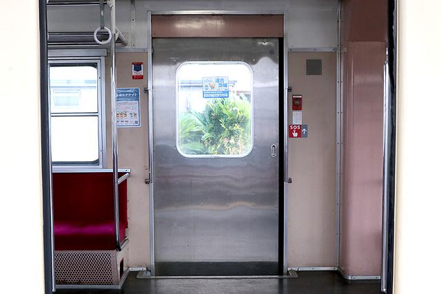 関東鉄道キハ532形 客用ドア