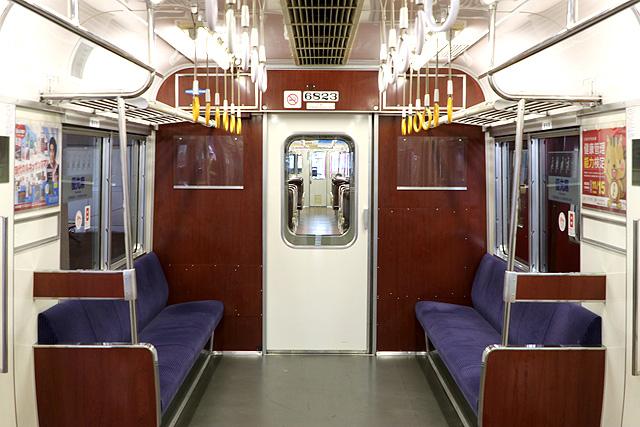 名鉄6800系(3・4次車)貫通路