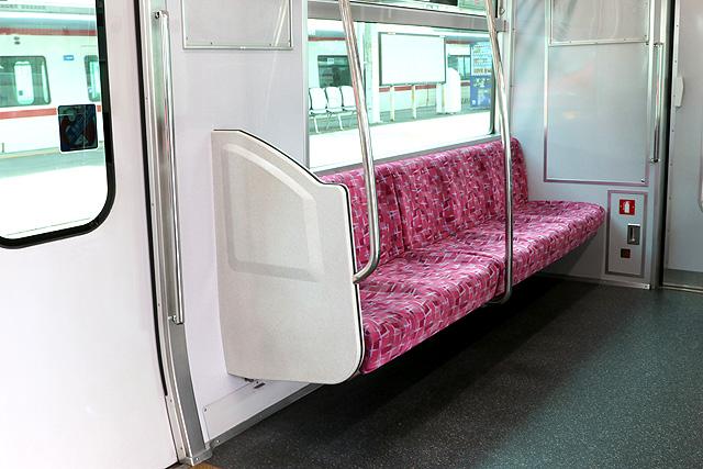 名鉄2300系 優先席