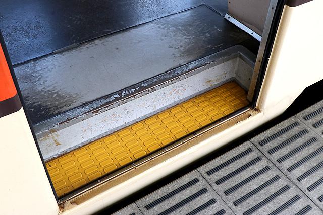 関東鉄道キハ532形 ステップ