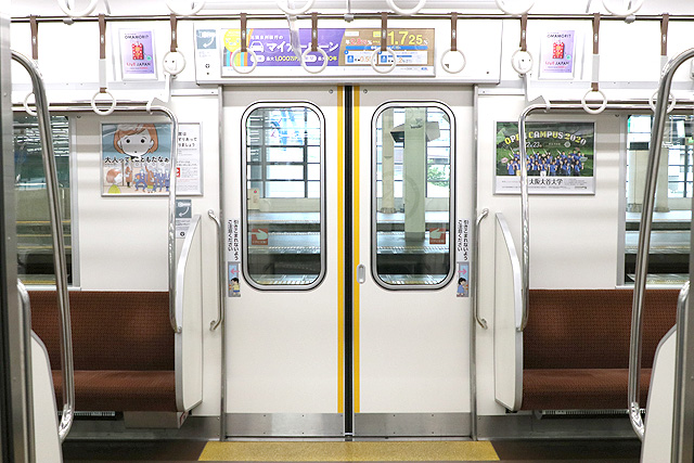 南海8300系(1次車)客用ドア