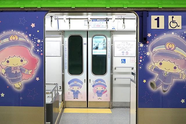 東京モノレール10000形 キキ&ララ モノレール 客用ドア