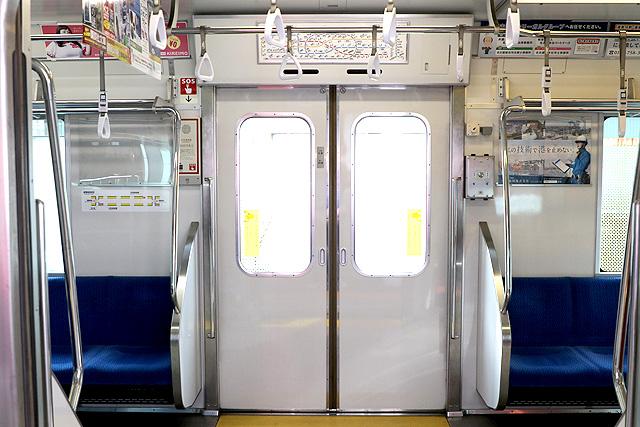 名古屋市営地下鉄N3000形(ステンレス車) 客用ドア