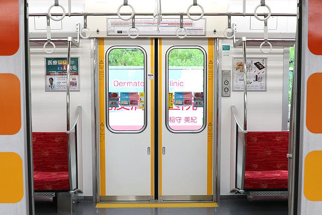 山陽6000系 客用ドア