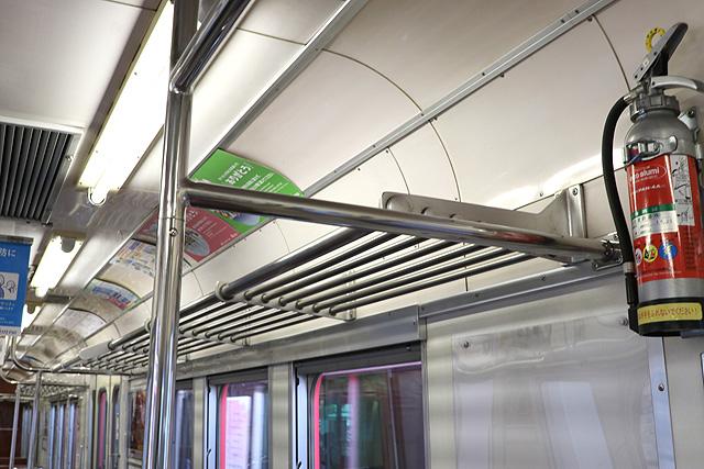 名鉄6000系(9次車)荷棚